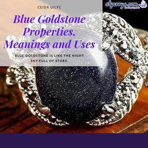 Blue Goldstone Properties, Meanings and Uses