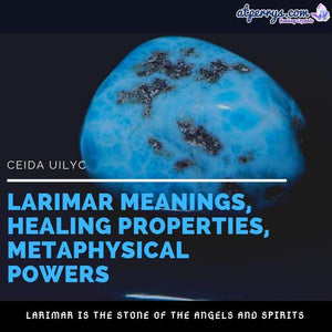 Larimar Meanings, Healing Properties, Metaphysical Powers