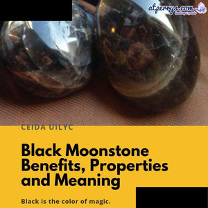 Black Moonstone Benefits, Properties and Meanings