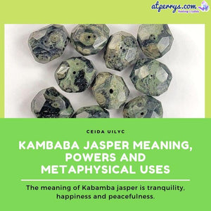 Kambaba Jasper Meaning, Powers and Metaphysical Uses