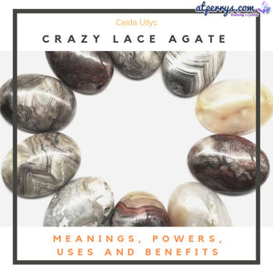 Crazy Lace Agate Meanings, Powers, Uses and Benefits