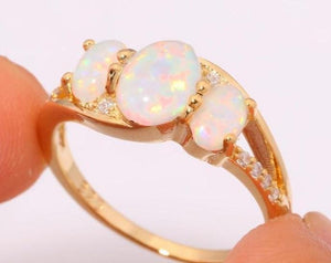 11 Opal and Fire Opal Ring Suggestions for Ladies