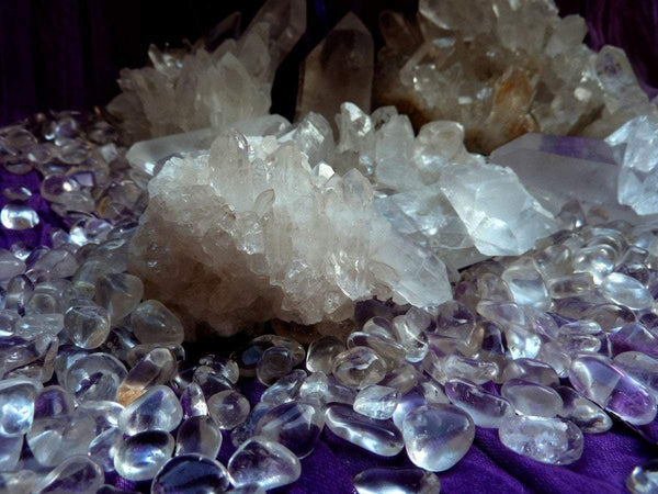 Gemstones by Color: Colorless Healing Crystals - AtPerry's ...