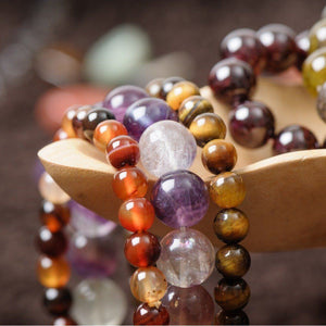 Healing Crystal Bracelets Collection