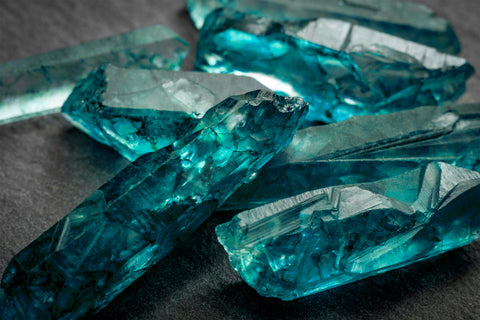 Aquamarine gemstone is March birthstone
