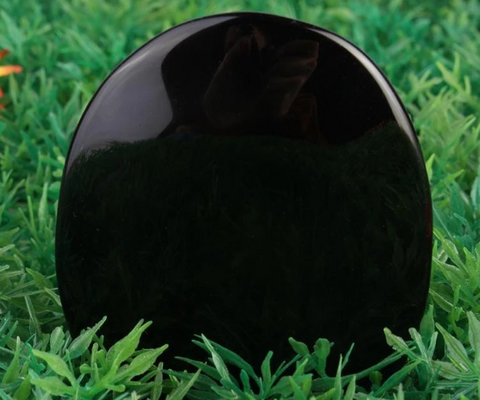 Black Obsidian Scrying Mirror