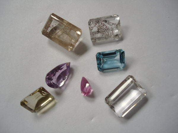 Gemstones by Color: Silver Healing Crystals
