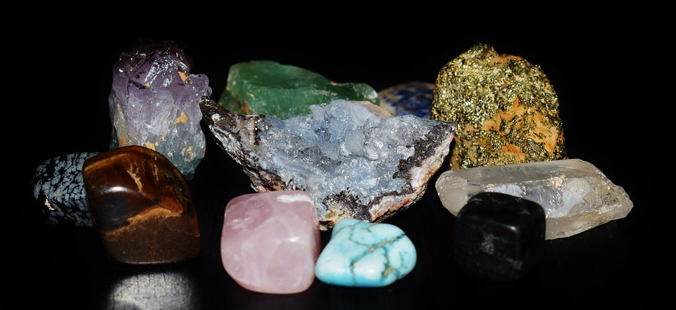 Healing crystals to boost energy