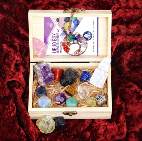 healing crystals set - ubud box by atperry's