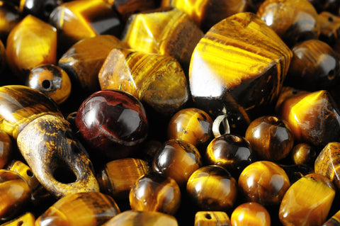 Who should not wear tigers eye tumbled stones