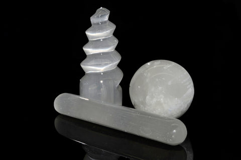 9 Things about Selenite wands spheres
