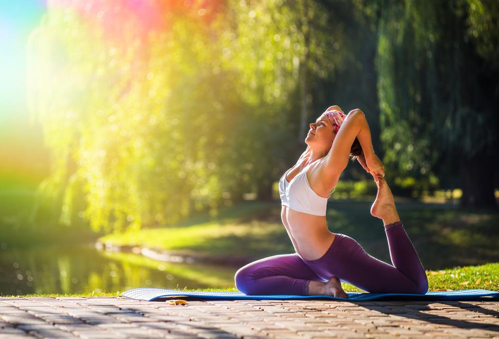 7 Yoga Poses for Chakra Power with Crystals