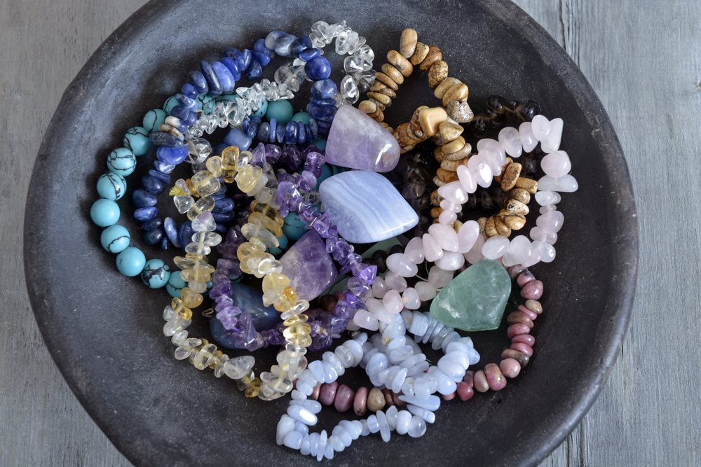 Cleaning Healing Crystals in an affordable singing bowl AtPerrys