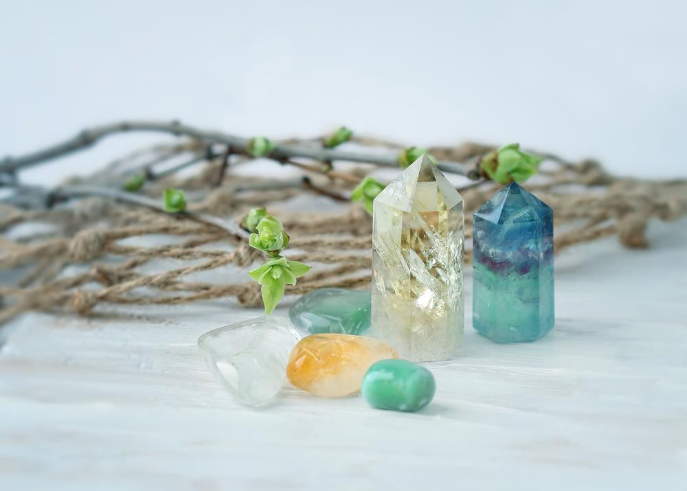 Powerful Grounding Chakra Using Healing Crystals