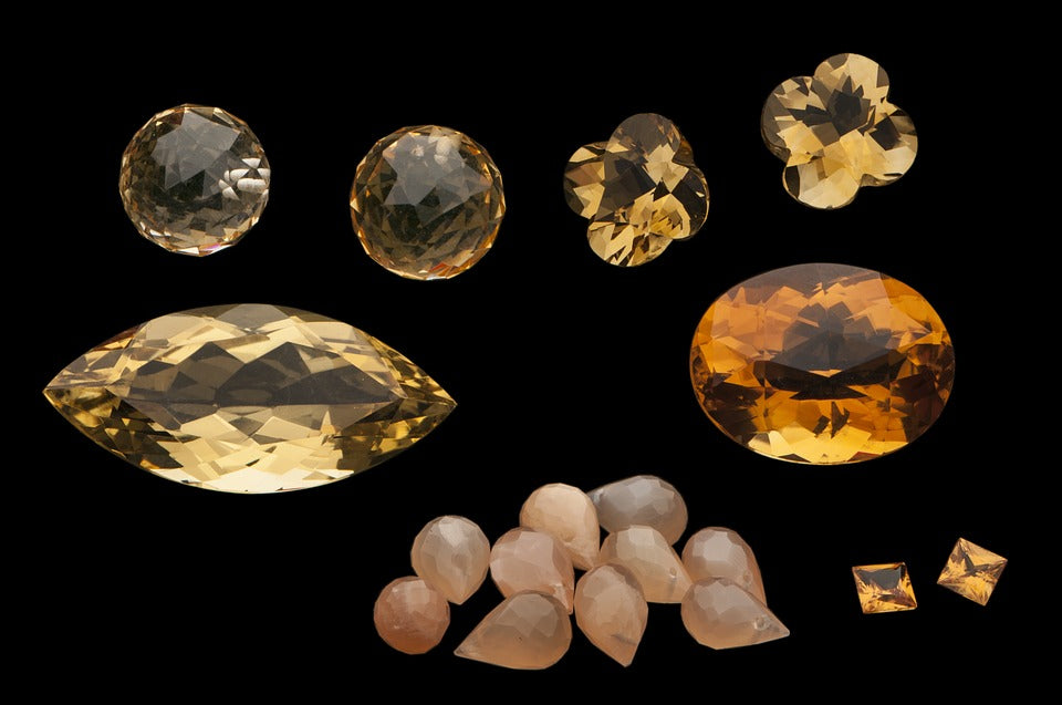 Gemstones by Color: Yellow Healing Crystals