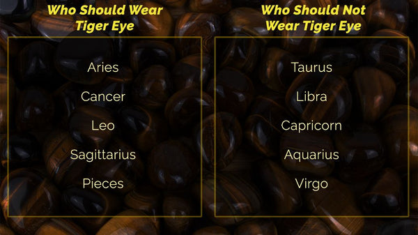 who should not wear tiger eye table