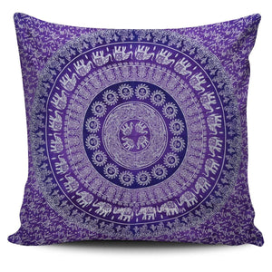Elephant Mandala Pillow Cover - atperry's healing crystals