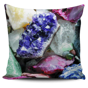 Healing Crystals Pillow Cover 17 - atperry's healing crystals