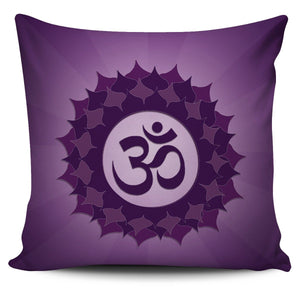 Crown Chakra Pillow Cover
