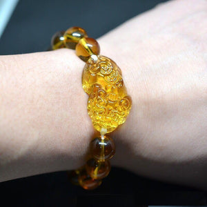 Crystal Citrine Beads Bracelet - atperry's healing crystals