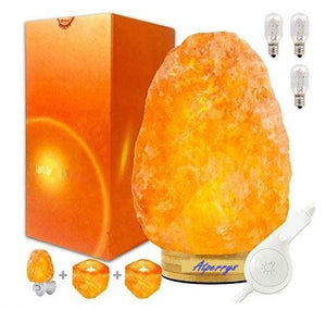 Rare Designs Authentic Touch Dimmer Switch Control Salt Lamp (Shipping to USA only)Salt LampLotus (8-13 lbs)