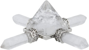 Pyramid Crystal Energy Generator Reiki (Shipping to US only)Energy GeneratorRock Quartz