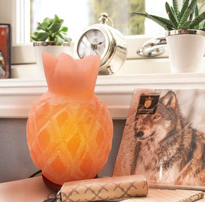Rare Pineapple Shape Himalayan Salt Lamp (Shipping to USA only)Salt Lamp