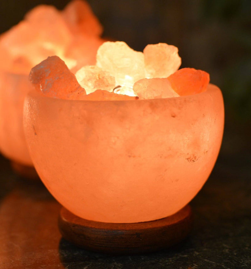 Himalayan Rock Salt Bowl LampSalt Lamp