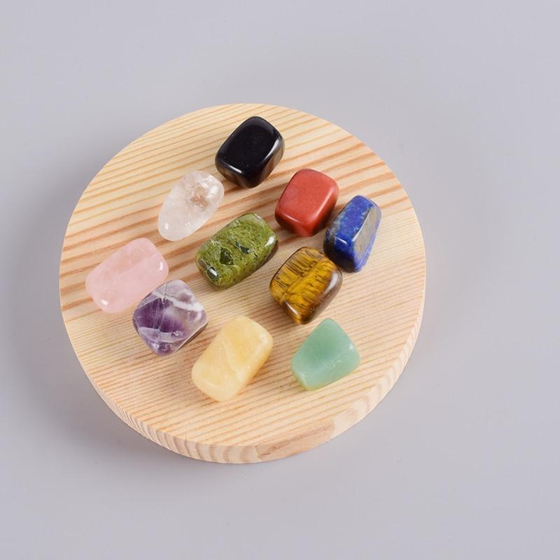 10 Pieces / Box Natural Crystal Gemstones