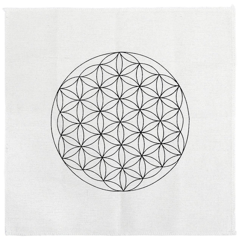 Healing Crystals Grid Cloth - atperry's healing crystals
