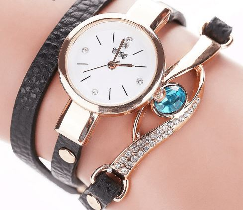 Gold Eye Gemstone Watch - atperry's healing crystals