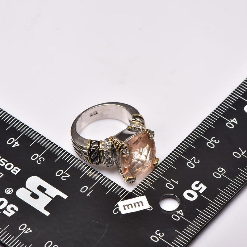 Morganite Quality Ring (Unisex)Ring