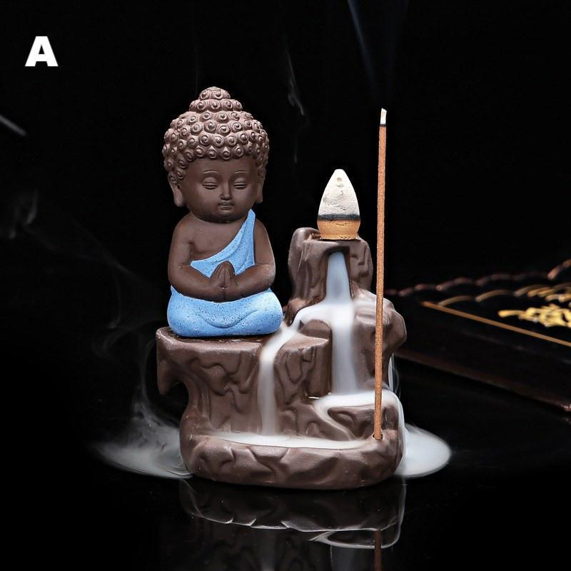 The Little Monk Ceramic Incense BurnerIncense Burner