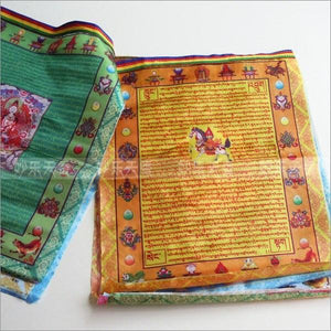 10 Tibetan Buddhist Prayer Flags - atperry's healing crystals