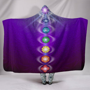 Chakra Hooded Blanket - atperry's healing crystals