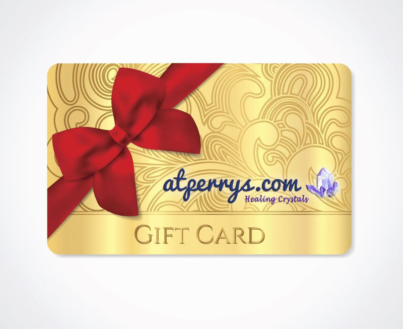 Gift Card for AtPerry's Healing Crystals - atperry's healing crystals