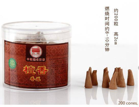 Quality sandalwood incense cones   3 Sizes   AtPerrys Healing Crystals   1