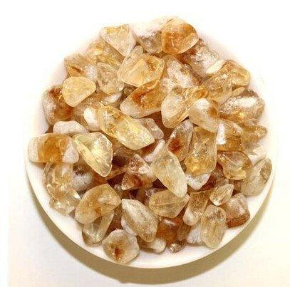 Natural Citrine Crystal Tumbled Stone Healing (100 Grams) - AtPerrys Healing Crystals - 1