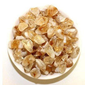 Natural Citrine Crystal Tumbled Stone Healing (200 Grams) - atperry's healing crystals