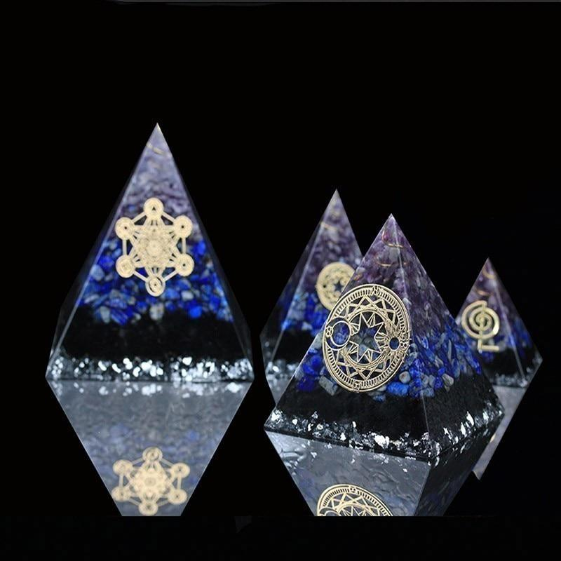 Orgonite Lapis lazuli Natural Crystaldecoration
