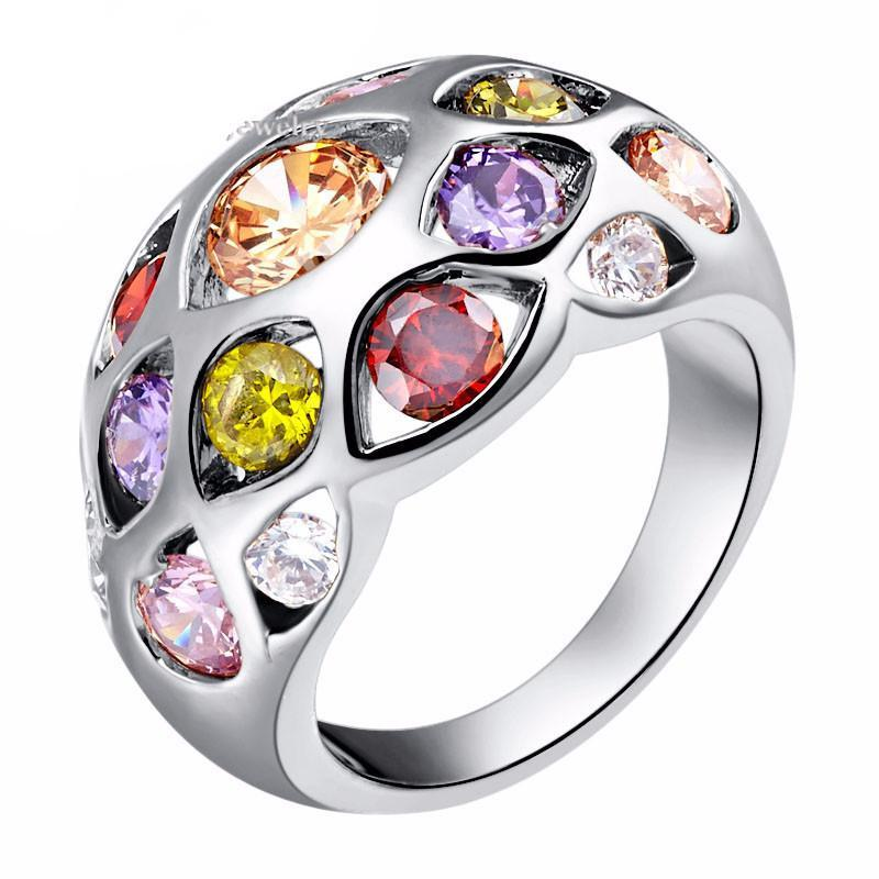 Multi Gemstone Love Ring - atperry's healing crystals