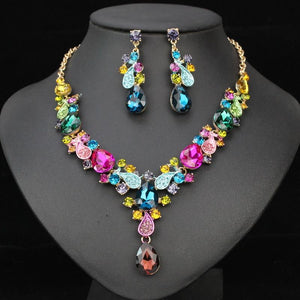 Luxury Bridal Crystal Jewelry Set - atperry's healing crystals