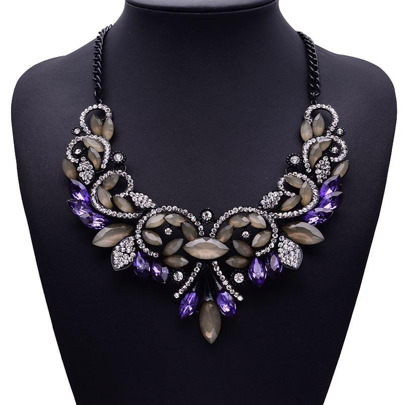 Luxury Crystal Necklaces   matans store.myshopify.com