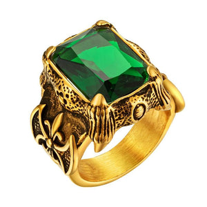 Gold Vintage Men RingRing
