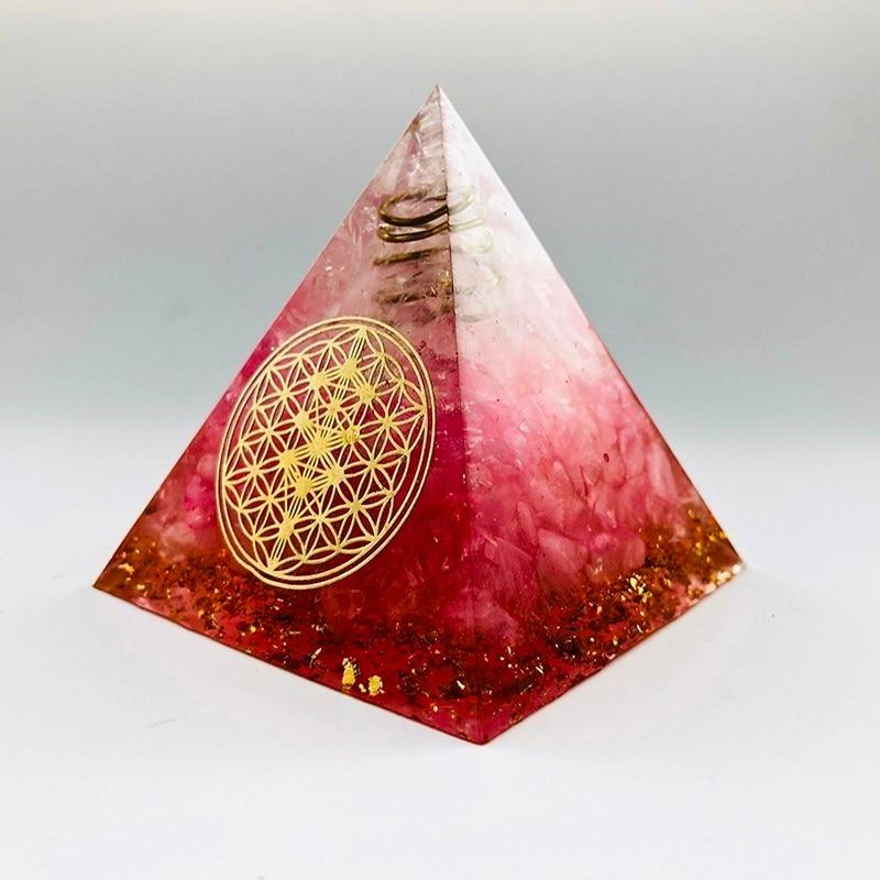 Orgonite Pyramid Red Agate
