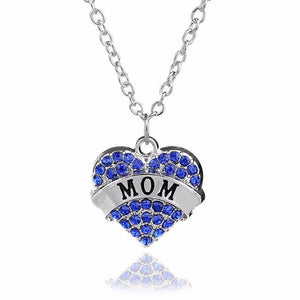Mother's Day Heart Necklace - AtPerry's Healing Crystals™