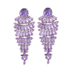 Amethyst Vintage Drop EarringsEarrings