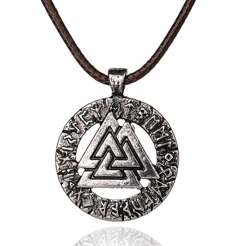 Pagan Odin Amulet Necklace - AtPerry's Healing Crystals™