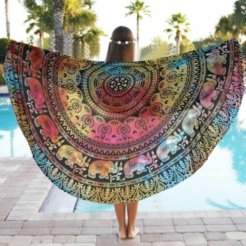 Yoga/Beach Mandala Blanket - AtPerry's Healing Crystals™