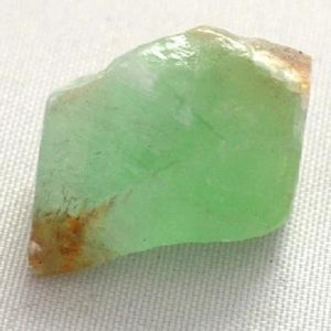 Green Calcite Rock Mineral Stoneraw stone